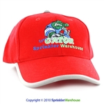 SW-GATORCAP-REDSL Red Structured Irri-Gator Ballcap with Scotchlite