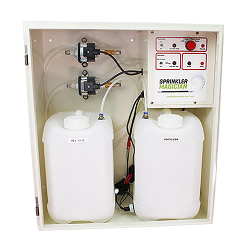SprinklerMagician-2 Dual Reservoir Machine Pest and Fertilizer