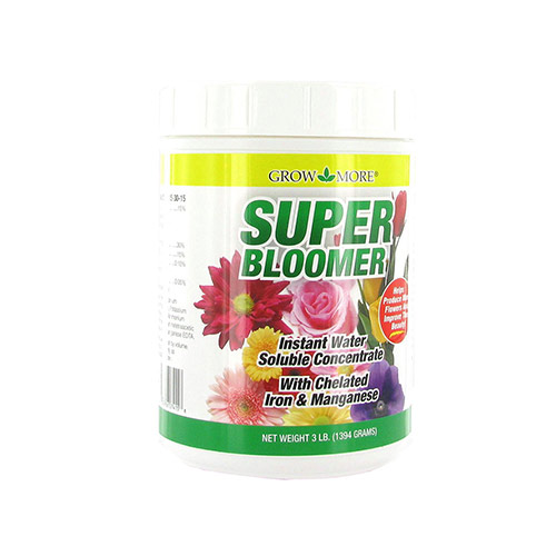 Grow More Super-Bloom-15-30-15 - Fertilizer Mix (3 lbs)