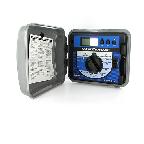 Irritrol TC-6EX-R - Total Control Series 6 Station Outdoor Remote Ready Controller / Timer