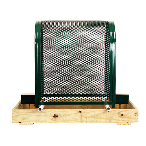 Gorilla Cage Tall-GC-1-Green Backflow Preventer Protection Enclosure