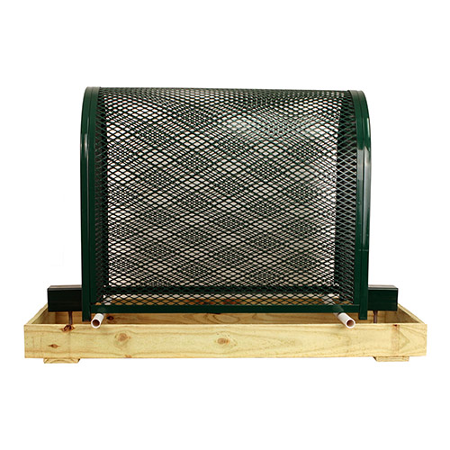 Gorilla Cage Tall-GC-2-Green Backflow Preventer Protection Enclosure
