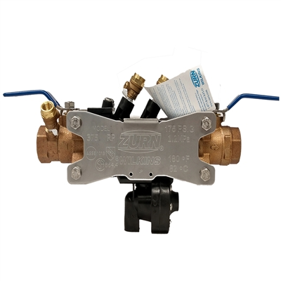 Wilkins WK375-100 1 in. RPZ Backflow Preventer