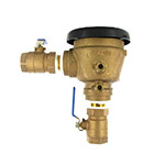 "Wilkins 720A 1-1/4"" Pressure Vacuum Breaker Assembly Backflow Preventer"