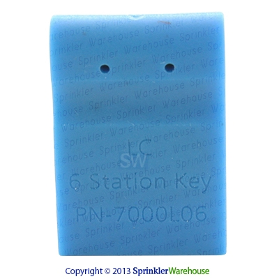 WeatherTrak WTLC-6STA-KEY 6 Station Key