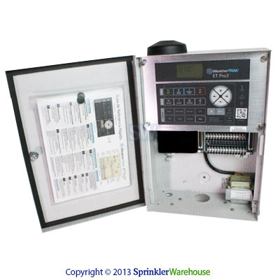 WeatherTrak-WTPRO3-C-12-CWM-12 Station Wall Mount