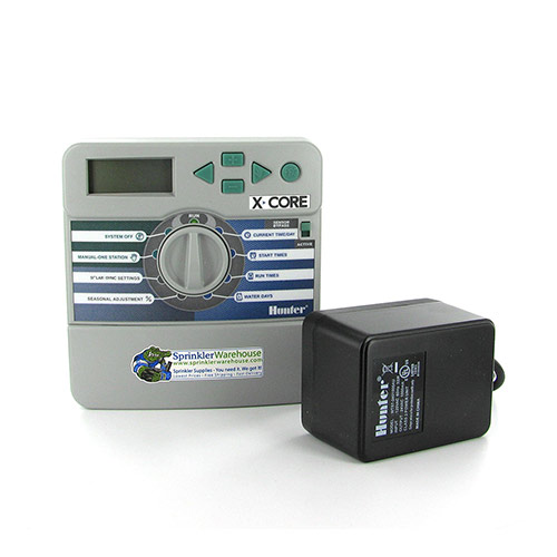 Hunter XC-400i - X-Core Series 4 Station Indoor Controller/Timer