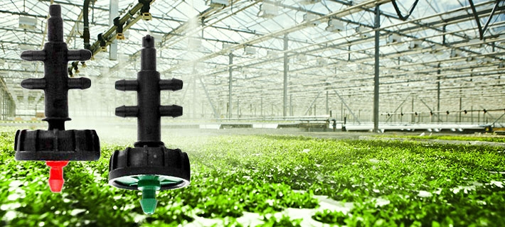 Multi Outlet Drip Emitters For Drip Irrigation Systems