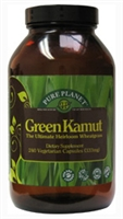 Green Kamut Powder, 240 caps
