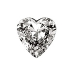 Heart Shaped Loose Diamond Essence Stone is very popular around valentine and holiday season. The sparkle and beauty of this stone is unmatched.