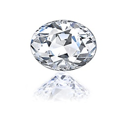 Oval Cut Diamond Essence Stone in Various Colors and Sizes at just $18/Carat.