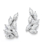 Diamond Essence Designer earring  with Marquie Essence. Appx. 4.25 Cts.T.W.