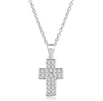 Santa Cruz-Cross pendant in Sterling Silver