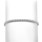 2.4ct 7-tennis bracelet in 14K Solid White Gold