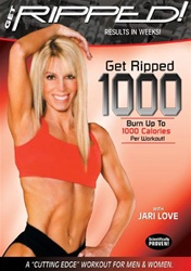 JARI LOVE GET RIPPED 1000 EXERCISE DVD