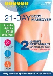 Escape Your Shape 21 Day Body Makeover DVD