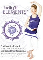 Bellyfit Elements 5 DVD Set