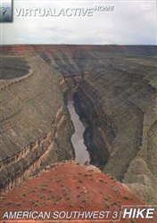 Virtual Active American Southwest 3 Hike DVD