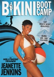 BIKINI BOOT CAMP THE HOLLYWOOD TRAINER DVD WITH JEANETTE JENKINS
