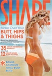 SHAPE MAGAZINE YOUR BUTT HIPS & THIGHS EXERCISE DVD