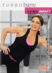 Cathe Friedrich Low Impact Series Turbo Barre DVD
