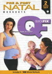 Quickfix Pre And Post Natal DVD Set