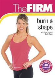 THE FIRM BURN & SHAPE DVD
