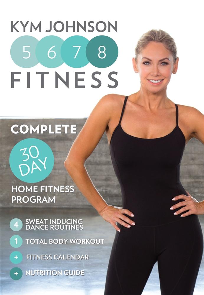 Kym Johnson 5678 Fitness Dvd 30 Day Program