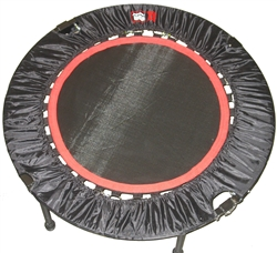 Urban Rebounder Folding Mini Trampoline with URX-MT 13 DVD Set