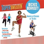 Richard Simmons Supersweatin' Wicked Workout Audio CD