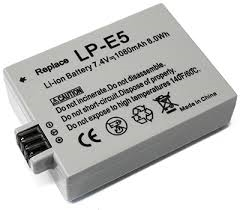 Canon LP-E5 Digital Camera Battery Replacement