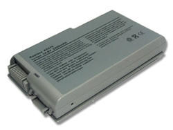 Dell Latitude D600 6 Cell Laptop Battery 312-0090, 451-10133, 9X821, 312-0068, 312-0084, 4M983, 3R305, BAT1194, 1X793, 315-0084