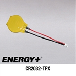 CMOS CR2032-TPX coin cell battery