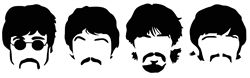 Laptop Decals-Music-Beatles