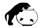 Laptop Decals-Pets/Animals-Fishbowl