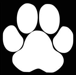 Laptop Decals-Pets/Animals-Paw Print