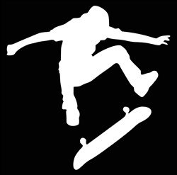 Laptop Decals-Sports-Skateboarding