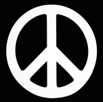Peace Sign Decal