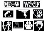 Laptop Decals-Pets/Animals