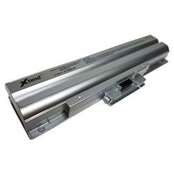 Sony Vaio VGN-NW VGP-BPS13 Laptop notebook computer Battery batteries VGP-BPS13S VGP-BPS13AS Silver replacement