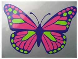 Prius Butterfly Decal