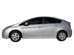 Chrome Body Side Moldings for 2010-2014 Toyota Prius