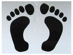 Footprint Decal