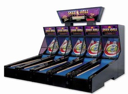 Skee-ball Lightning 5-Player Model with Jackpot Marquee