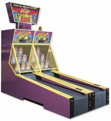 Skee-Ball Scat Cats Dual Unit with Optional Jackpot Marquee