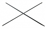 Scaffolding ANGLE IRON Cross Brace 10'x3'x4' Set of 4