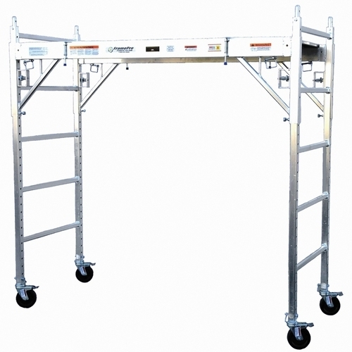 Portable Scaffolding With Wheels : Aluminum scaffolding tower adjustable interior