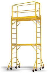 Stacked Scaffolding Rolling Adjustable Tower