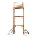 18 foot Stacked Multi-Purpose Rolling Scaffold Tower