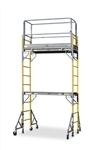 12' Snappy Scaffolding Unit 6' Long with Guardrail
